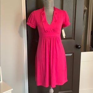 NWT Pink 6 degrees cotton dress size Med